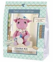 Go Handmade Crochet Kit Hillary Pig